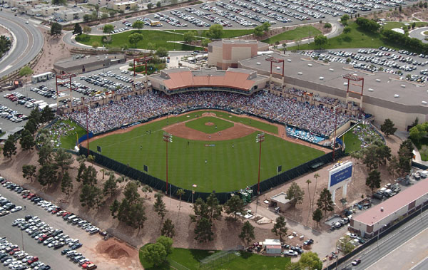 Las Vegas's Cashman Field lacks the bells and whistles of modern ballparks