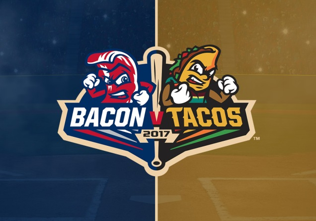 Lehigh Valley IronPigs - Fresno Grizzlies -- Bacon vs. Tacos promotion