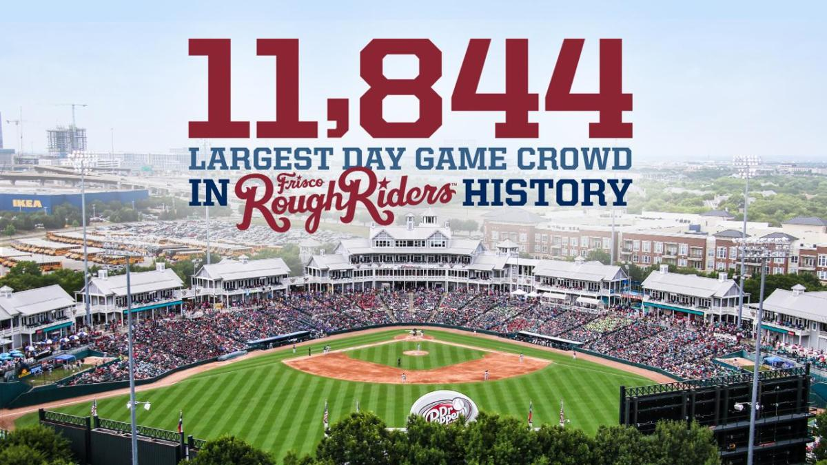 Frisco RoughRiders Break Records During Big Homestand