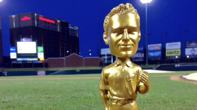 Minor League Baseball Golden Bobblehead