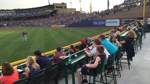 The Lehigh Valley IronPigs offer a variety of vantage points to take in a game.