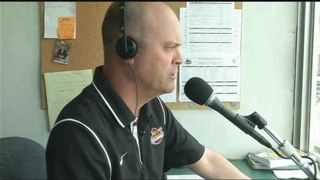 Rochester Red Wings broadcaster Josh Whetzel