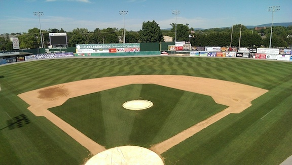 Hagerstown Suns Municipal Stadium is one of the oldest in the minors.