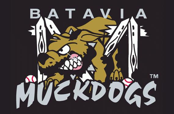 Logo for Batavia Muckdogs baseball team
