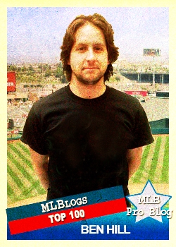 Ben Hill Baseball Card