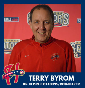 Harrisburg Senators Radio Broadcaster Terry Byrom