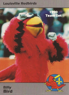Former Louisville Redbirds mascot Billy Bird