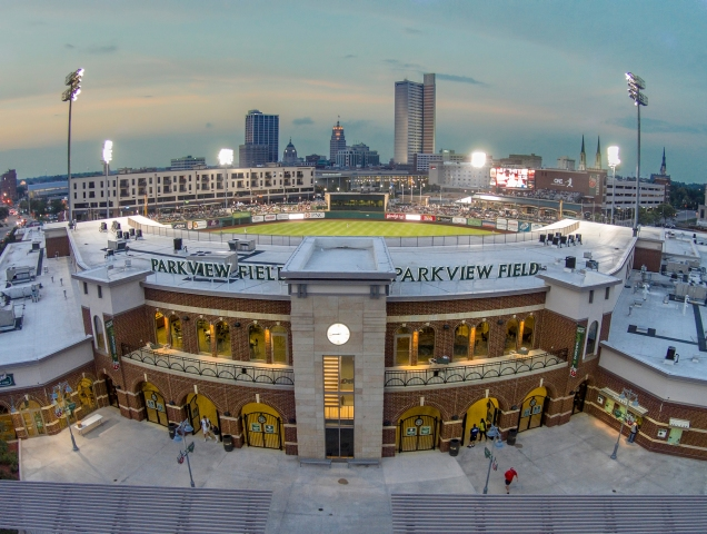 Parkview Field, Home of the Fort Wayne TinCaps