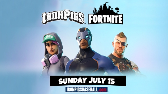 Fortnite Day at the Lehigh Valley IronPigs