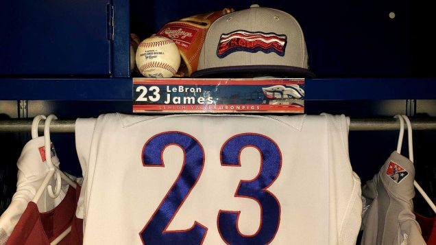 LeBron James and the Lehigh Valley IronPigs
