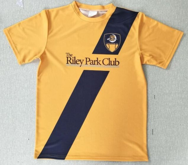 Charleston Riverdogs passed out soccer jerseys during World Cup Night.