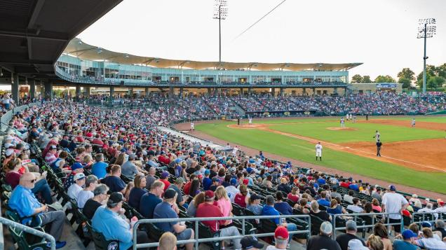 Northwest Arkansas Naturals' Arvest Ballpark