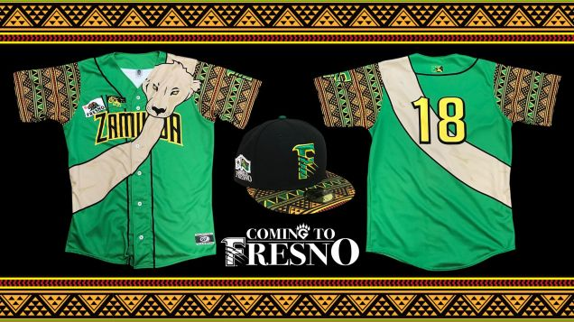 Fresno Grizzlies Coming to America Promotion.