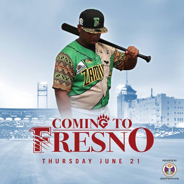 Fresno Grizzlies Coming to America Promotion