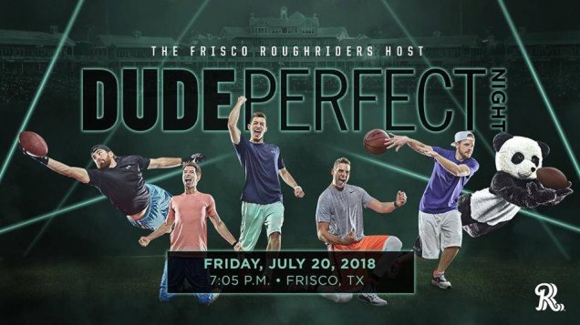 Dude Perfect comes to the Frisco RoughRiders